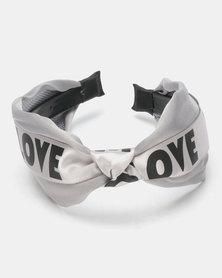 Joy Collectables Love Alice Band Grey