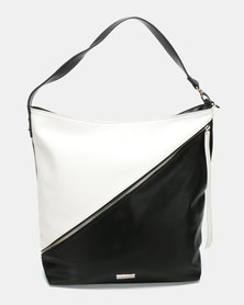 Pierre Cardin Nicola Hobo Bag Black/White