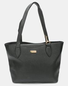 Pierre Cardin Becca Saffiano Tote Bag Black