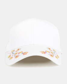 Joy Collectables Sakura Peak Cap White