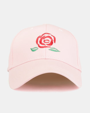 9fb72edd6be Joy Collectables In Bloom Peak Cap Pink