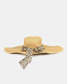 Joy Collectables Frayed Hat Natural  6a50014854bd