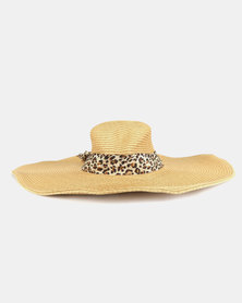 Joy Collectables Classic Straw Hat Natural