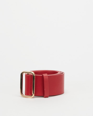 Joy Collectables Plain Belt Red