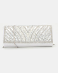 Joy Collectables Diva Clutch Bag Silver