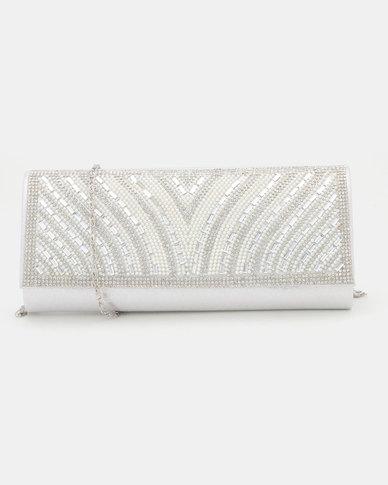 Joy Collectables Diva Clutch Bag Silver