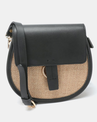 cc6ed36580ea Joy Collectables Simple Crossbody Bag Black
