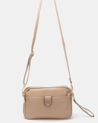 b4e86a8d62e9 Joy Collectables Crossbody Bag Nude