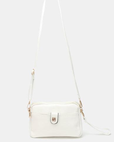 Joy Collectables Crossbody Bag White