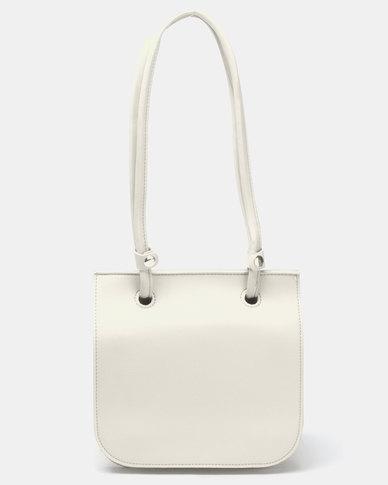Joy Collectables Accordion Crossbody Bag Ivory