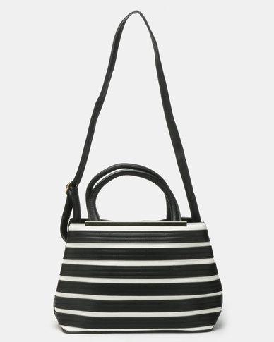 Joy Collectables Stripe Bag Black
