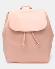 Joy Collectables Simple Backpack Pink