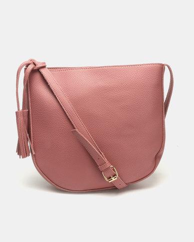 7ddba18e975c Joy Collectables Classic Crossbody Bag Pink