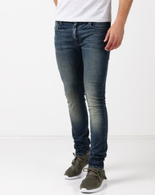 Kings Of Denim Skinny FX2 Turismo Jeans Indigo Blue