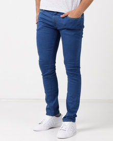 Kings Of Denim Skinny FX1 Europa Jeans Royal Blue