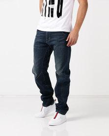 Kings Of Denim ARC Fit Drop Crotch Jeans Indigo Blue