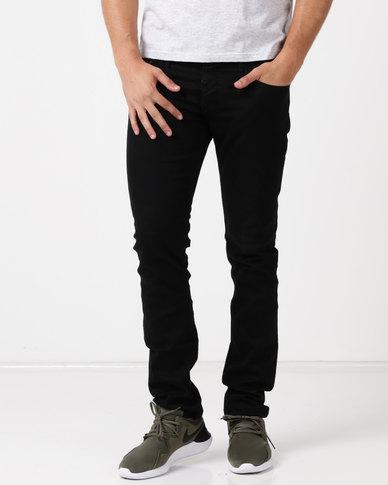 Kings Of Denim Slim Xx55 Raw Jeans Black Zando