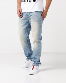 Kings Of Denim G6XR Drop Crotch Stellar Jeans Light Blue
