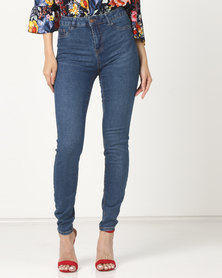 New Look Skinny Jeans Mid Wash
