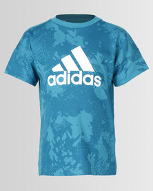 adidas Originals Lk Logo Tee Blue