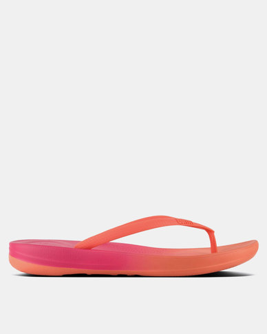 bef43a974 FitFlop iQushion Ombre Coral Fuchsia