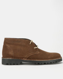 Grasshoppers Gina Boots Coffee
