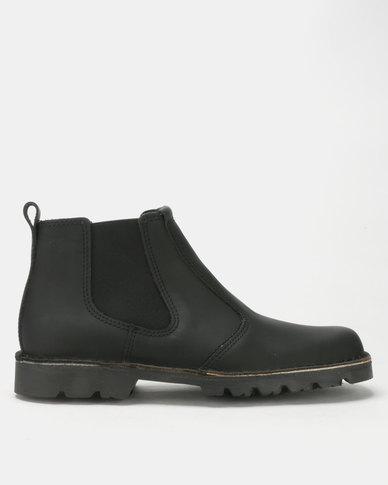 074a9a82df58 Grasshoppers Sahara Boots Black   Zando