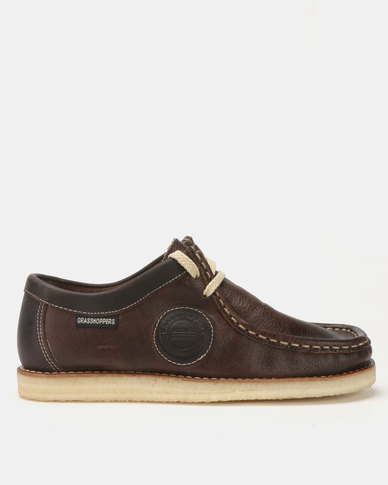 Grasshoppers Stilo Casual Shoes Brown