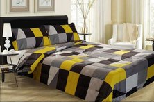Lush Living Grand Prix Duvet Comforter Set Multi