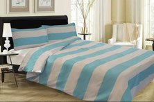 Lush Living Nautica Duvet Cover Set Blue/White