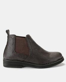 Renegade Dawie Boys Shoes Choc Brown