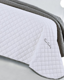 Pierre Cardin Decorative Coverlet White