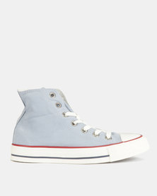 Converse CTAS Hi Sneakers L Blue Slate/Garnet/ Ombre Wash