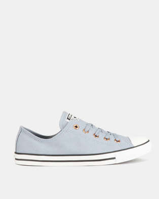 d96c7aac1823d8 Converse CTAS Dainty Eyelet Sneakers Ox L Blue Rose Gold