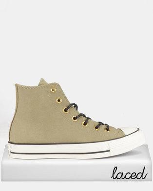 Converse CTAS Sneakers Leather / Corduroy HI M Jute