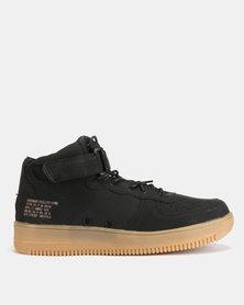 Urbanart Force 3 Nub Hi-Top Sneakers Black