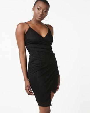 Sissy Boy Lace Mini Dress Black