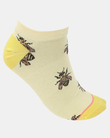 Stance Buzzchiller Socks Yellow