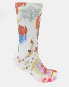 Stance Mrs Paws Socks White