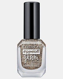 Catrice Peeloff Glam Easy To Remove Effect Nail Polish 03 When In Doubt, Just Add Glitter