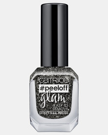 Catrice Peeloff Glam Easy To Remove Effect Nail Polish 04 Girls Bite Black