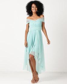 Infinity Dress SA Infinity Dress Cascade Glitter Mint