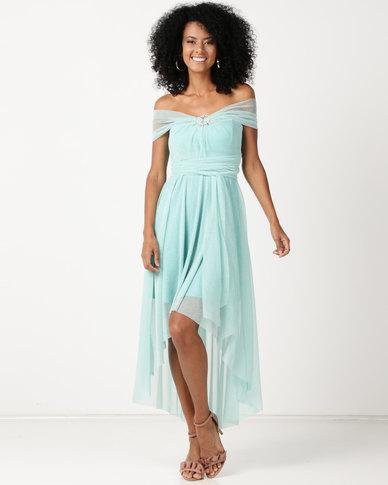 Infinity Dress SA Infinity Dress Cascade Glitter Mint | Zando