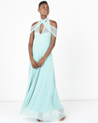 Infinity Dress SA Infinity Dress Evening Length Glitter Mint | Zando