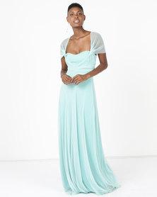 Infinity Dress SA Infinity Dress Extra Length Glitter Mint