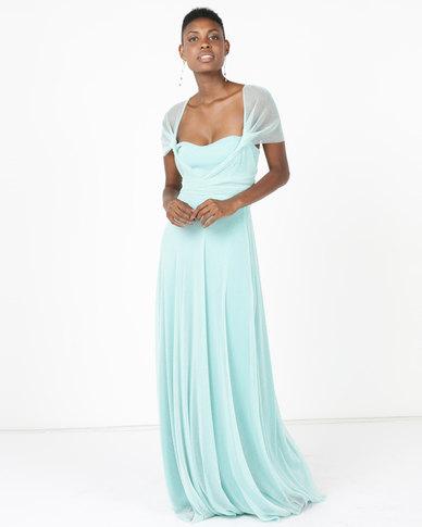 Infinity Dress SA Infinity Dress Extra Length Glitter Mint | Zando