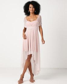 Infinity Dress SA Infinity Dress Cascade Glitter Blush Pink