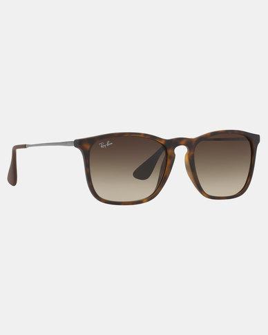 Ray-Ban Chris Tortoise Sunglasses Brown