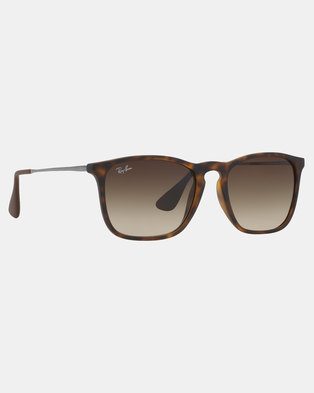 c816a5e576 Ray-Ban Chris Tortoise Sunglasses Brown
