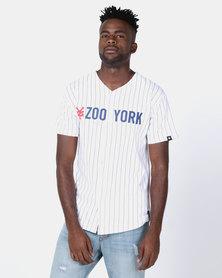 Zoo York Baseball Shirt White